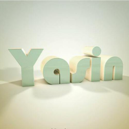 لوگو انگلیسی نام یاسین