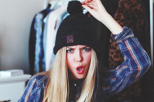 آواتار دخترونه خیلی زیبا با کلاه