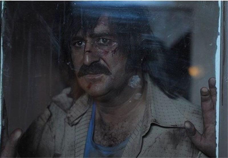 مهران احمدی در نمایی از فیلم «نفس»