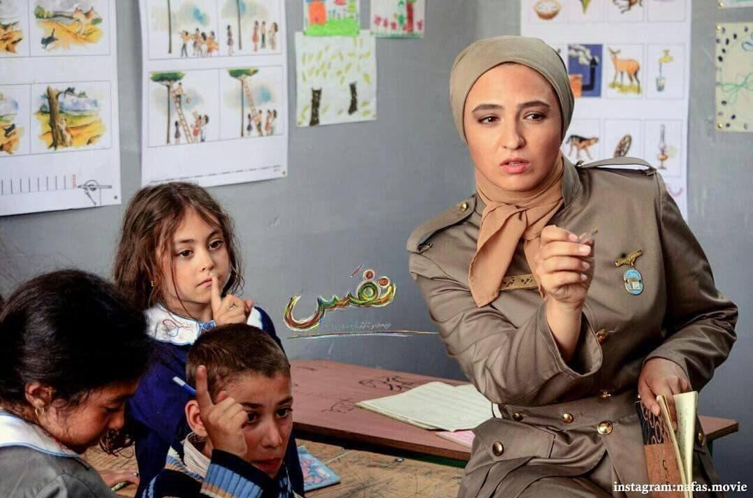 گلاره عباسی در نمایی از فیلم «نفس»